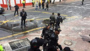 Bogata Explosion Aftermath Image